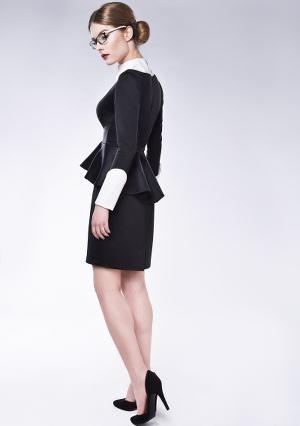 Żakiet spódnica klasycznie projekt moda