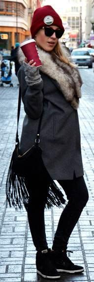 Ania Love Street Fashion Moda uliczna Modne kobiety