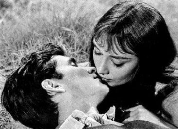 Audrey Hepburn Anthony Perkins Zielone domostwa 1959 Hollywood