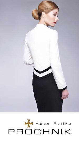 Biała marynarka Projektantka mody