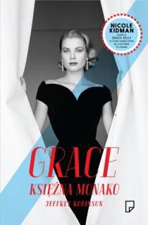 Grace Księżna Monako Biografia okładka książka Jeffrey Robinson