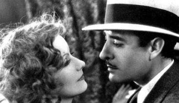 John Gilbert Greta Garbo Władczyni miłości 1928 historia kina