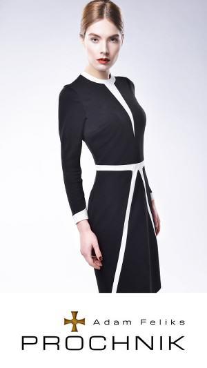 Klasyczny kostium dopracy Projektantka mody