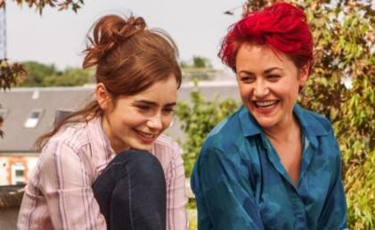 Love Rosie Lily Collins Ciekawy film omiłości, komedia romantyczna