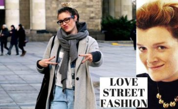 Love Street Fashion Blogerka Aleksandra Foryś Modne kobiety Moda uliczna