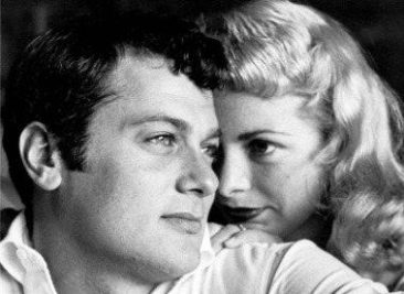 Tony Curtis Janet Leigh słynne pary Hollywood