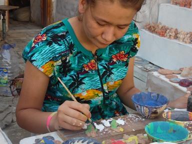 Przykładowe hobby dla kobiety malowanie