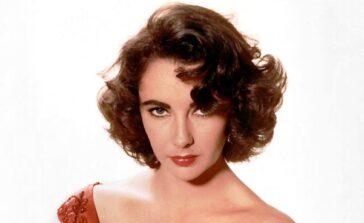 Elizabeth Taylor aktorka fioletowe oczy Richard Burton Gwiazdy Hollywood