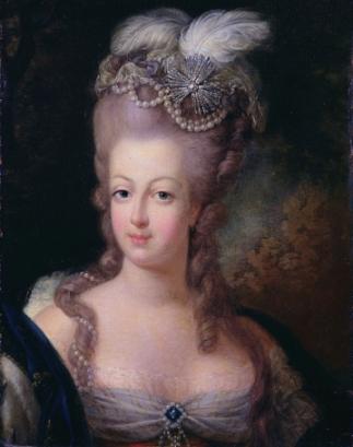 Portret Maria Antonina królowa Francji