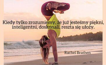 Joga ćwiczenia sposób na życie Yoga Girl Rachel Brathen książka