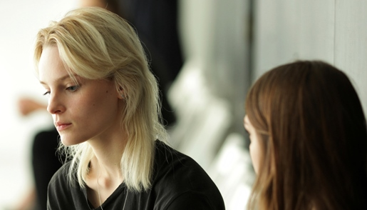 Charlotte Tomaszewska polska modelka w filmie Modelka Maria Palm