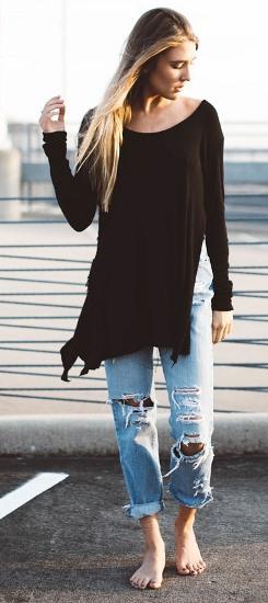 Jak znaleźć swój styl ubierania Moda inspiracje porady Kobieta wdżinsach