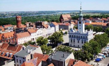 Najtańszy sposób na wycieczki jednodniowe po Polsce Chełmno województwo kujawsko pomorskie
