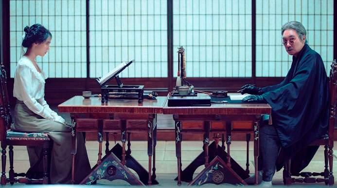 Film erotyczny ozłodziejce napodstawie powieści Sarah Waters Służąca Recenzja reżyseria Park Chan-wook