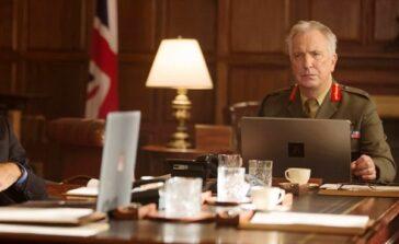 Niewidzialny wróg 2015 film dramat sensacyjny Helen Mirren i Alan Rickman Recenzja