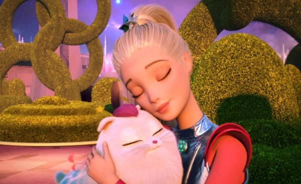 Barbie gwiezdna przygoda film animowany dla dzieci Recenzja filmu