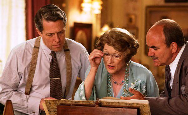 Boska Florence film Meryl Streep Hugh Grant David Haig ośpiewaczce, któranieumiała śpiewać