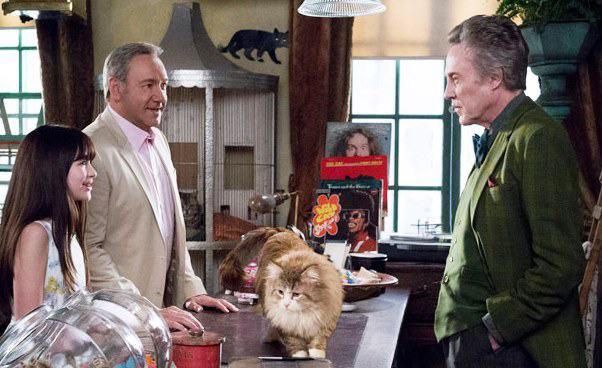 Jak zostać kotem kino familijne Recenzja filmu Christopher Walken Kevin Spacey Malina Weissman