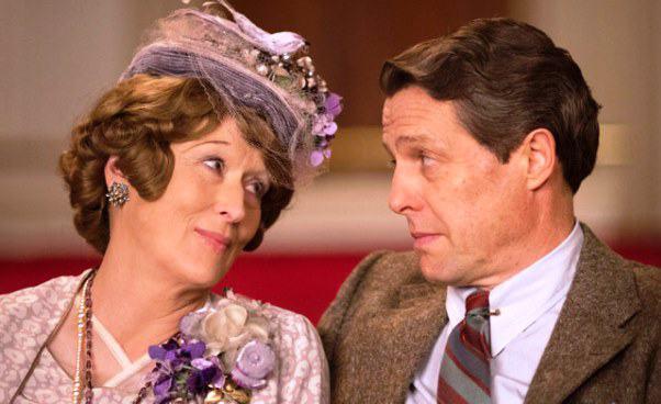 Meryl Streep Hugh Grant w komedii Boska Florence Foster Jenkins śpiewaczka operowa fałszuje