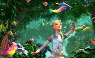 """""""Barbie gwiezdna przygoda"""" film animowany dla dzieci, bajka dla dziewczynek. Recenzja"""