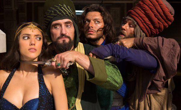 Recenzja filmu dla dzieci Nowe przygody Aladyna 2016 komedia francuska latający dywan czarodziejska lampa Aladyna