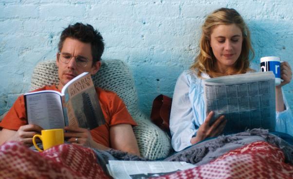 Plan Maggie komedia romantyczna Ethan Hawke Greta Gerwig Recenzja filmu Rebecca Miller