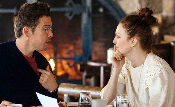 Plan Maggie komedia romantyczna Julianne Moore Ethan Hawke Recenzja filmu Rebecca Miller