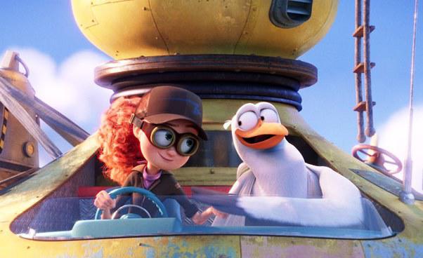 """""""Bociany"""" film animowany dla dzieci. Komedia obocianach przynoszących dzieci. Recenzja"""