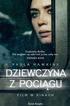 Dziewczyna zpociągu książka powieść thriller Paula Hawkins