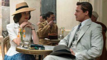 Sprzymierzeni melodramat film sensacyjny w stylu retro z Bradem Pittem Marion Cotillard Recenzja Opinie