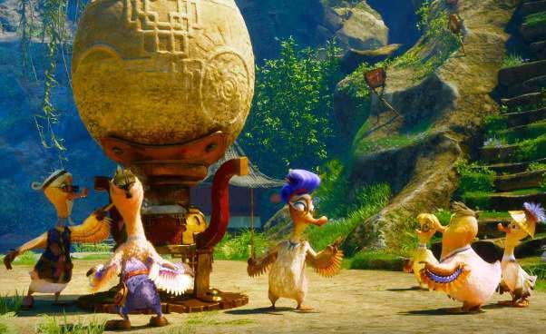 Zakwakani bajka animowana dla dzieci owalecznych kaczkach Recenzja filmu