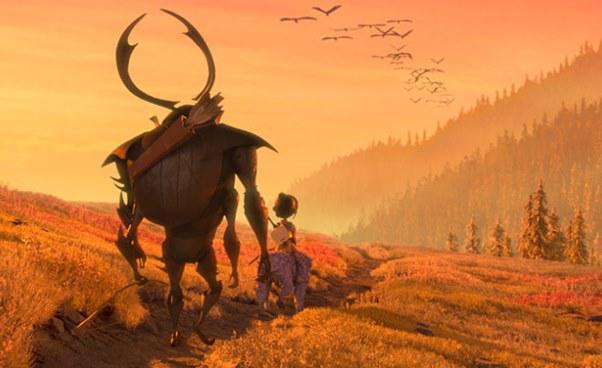 Ciekawe filmy dla dzieci Kubo i dwie struny bajka animowana baśń fantasy Opinie Recenzja filmu