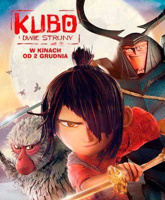 Ciekawe filmy dla dzieci Polski dubbing Kubo idwie struny bajka animacja baśń fantasy Opinie Recenzja