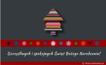 Kartki świąteczne za darmo do wykorzystania Życzenia przykłady