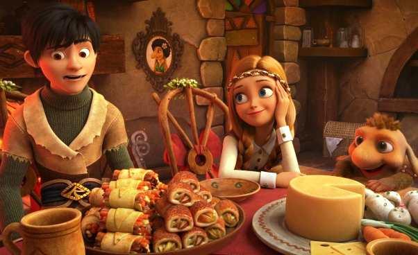 Królowa Śniegu 3 Ogień i lód rosyjska bajka animowana dla dzieci Recenzja filmu Opinie