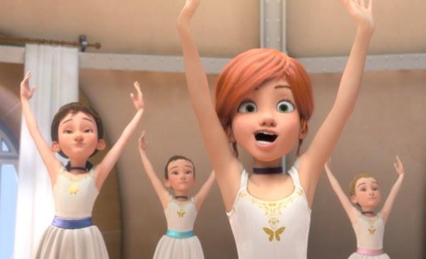 Bajka animowana dla dziewczynek Balerina obaletnicy wParyżu Recenzja filmu dla dzieci otancerce