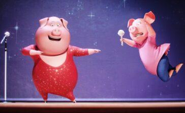 Sing bajka animowana dla dzieci muzyczna o śpiewających zwierzętach lista piosenek tytuły wykonawcy Recenzja filmu opis