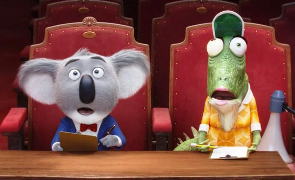 Sing bajka animowana dla dzieci ośpiewających zwierzętach Recenzja filmu piosenki opis