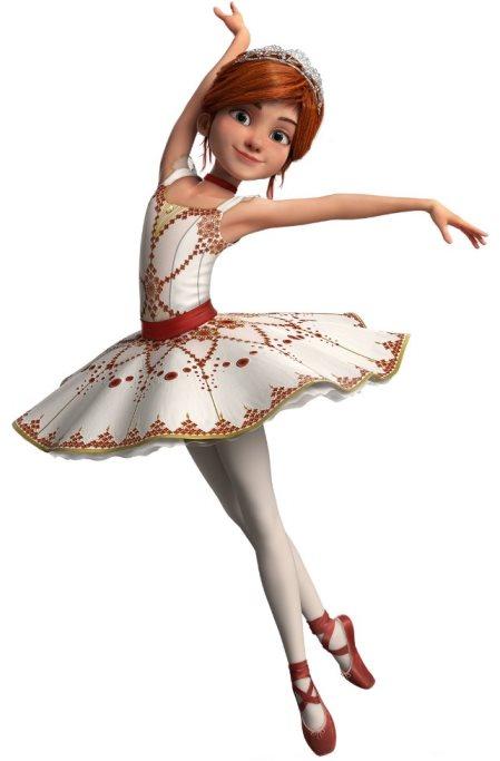 Sukienka baletnicy Felicji zbajki Balerina dla dzieci strój baletnicy