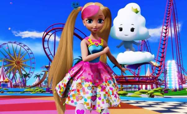 """""""Barbie wświecie gier"""" nowy film dla dzieci oBarbie zmotywem gry Minecraft. Recenzja"""