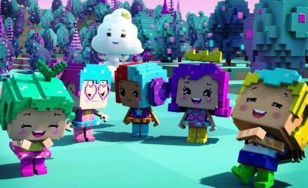 Gra Minecraft dla dzieci wbajce oBarbie wświecie gier Najnowsze przygody Barbie Recenzja filmu odjakiego wieku