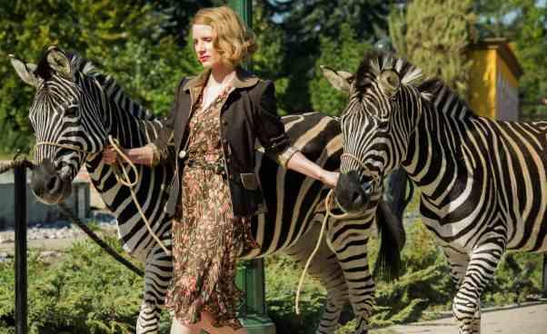 Jessica Chastain napromocji wPolsce Warszawie film Azyl promocja oAntoninie Żabińskiej ogód zoologiczny biograficzny nafaktach