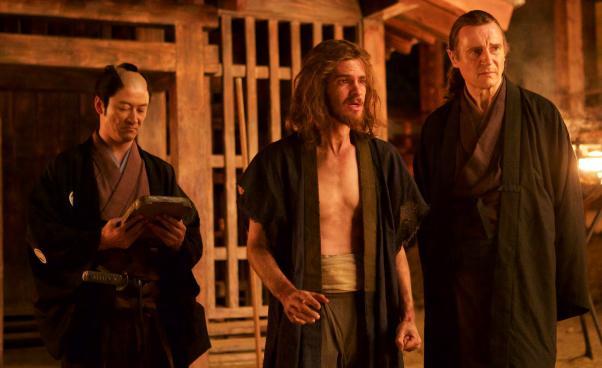 Milczenie Silence 2016 film religijny dramat historyczny Martina Scorsese ochrześcijaństwie wJaponii Recenzja Liam Neeson Andrew Garfield
