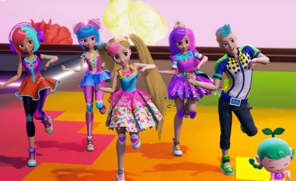 Najnowszy film oBarbie wkinach Animowana bajka Barbie wświecie gier dla małych dzieci Minecraft Recenzja