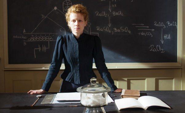Maria Skłodowska Curie film biograficzny 2017 Karolina Gruszka wroli głównej Gruszką Recenzja Opinie