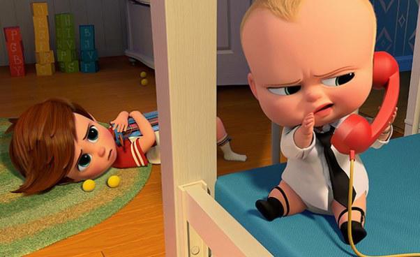 Dzieciak rządzi film animowany omłodszym bracie starszym rodzeństwie Recenzja opinie fabuła bajki dla dzieci