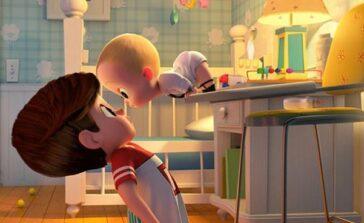 """""""Dzieciak rządzi"""" film animowany dla dzieci o chłopcu i jego młodszym braciszku. Recenzja"""