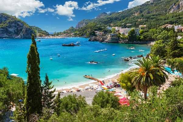 Korfu wyspa wGrecji Którą grecką wyspę wybrać nawakacje 2017 Lato naplaży Dla rodzin zdziećmi