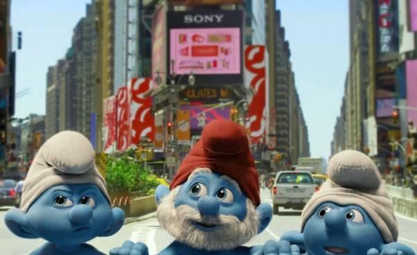 Smerfy 2011 film fabularny komedia familijna oSmerfach część 1 pierwsza Opis fabuła opinie