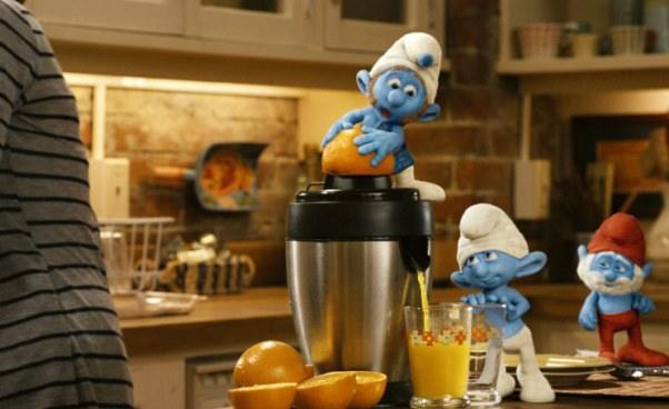 Streszczenie filmu Smerfy wNowym Jorku 2011 film fabularny komedia familijna oSmerfach część 1 pierwsza Opis Recenzja